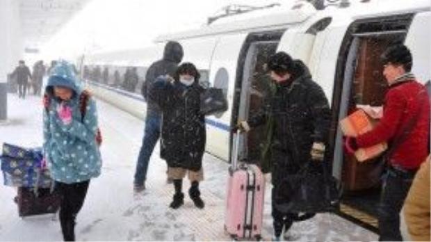 Mùa đông năm nay đã ghi nhận đợt rét kỷ lục ở Trung Quốc trong vòng 30 năm qua.