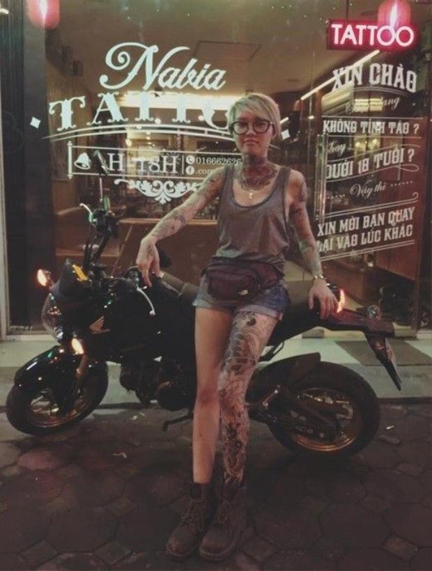 Độc đáo ý nghĩa các hình xăm của hot girl Việt