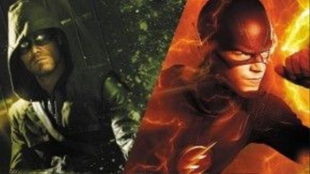 """Sự """"cross-over"""" của Arrow và The Flash mở đầu cho chuỗi phim siêu anh hùng có nhiều hơn một siêu anh hùng của DC."""