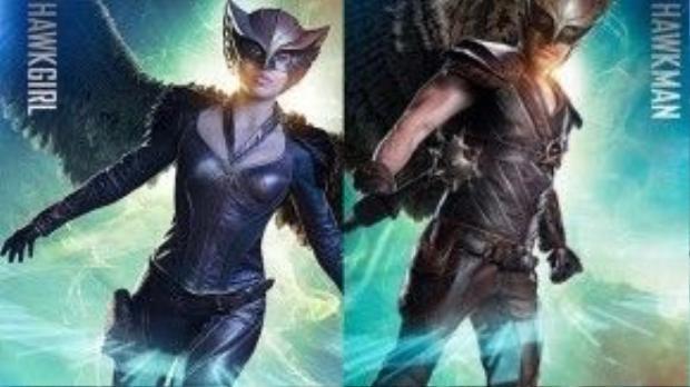 Tập pilot đầu tiên theo sát câu chuyện của cặp vợ chồng Hawkgirl và Hawkman.