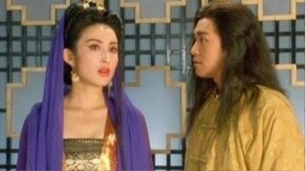 Trương Mẫn là mỹ nhân có tần suất xuất hiện nhiều nhất trong phim Châu Tinh Trì.
