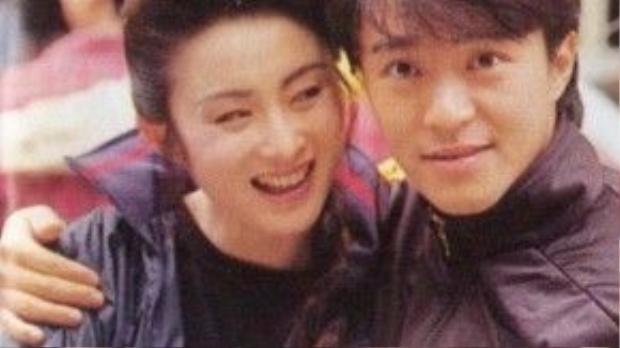 Trương Mẫn và Châu Tinh Trì thường vào vai vợ chồng trên phim.