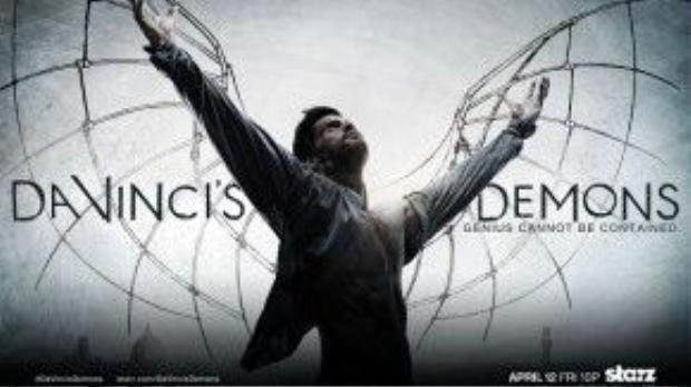 """""""Da Vinci's Demons"""" là loạt phim có nhiều tính triết lý"""