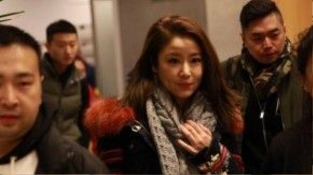 Lâm Tâm Như hội ngộ cùng cô bạn thân.