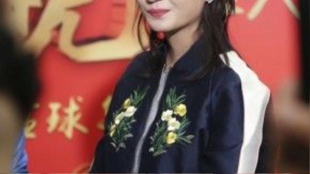 Triệu Vy trẻ trung trông thấy. Cô được khen đẹp hơn trước.