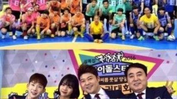 Idol Star Athletics Championships đã được quay trước Tết vài tháng nhưng được để dành để phát sóng vào dịp đầu năm mới 9/2/2016. Show được coi là thế vận hội thể thao giữa các thần tượng, được tổ chức hàng năm của đài MBC, với số lượng idols tham gia đông đảo nhất. Các nhóm như EXO, BEAST, VIXX, BTS, APINK, TWICE, SEVENTEEN, GOT7, N.Flying, Lovelyz, GFriend, Bestie, Red Velvet… sẽ lần lượt tham gia vào nhiều bộ môn thể thao, thi đấu giành huy chương.