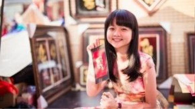 Nhân dịp năm mới, diễn viên nhí Lâm Thanh Mỹ cũng gửi lời chúc sức khỏe, chúc quý độc giả một năm nhiều niềm vui, thành công và an khang thịnh vượng.
