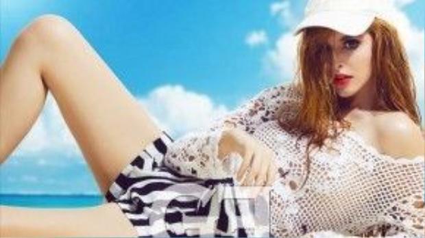 Hình ảnh gợi cảm của người mẫu Tây Andrea