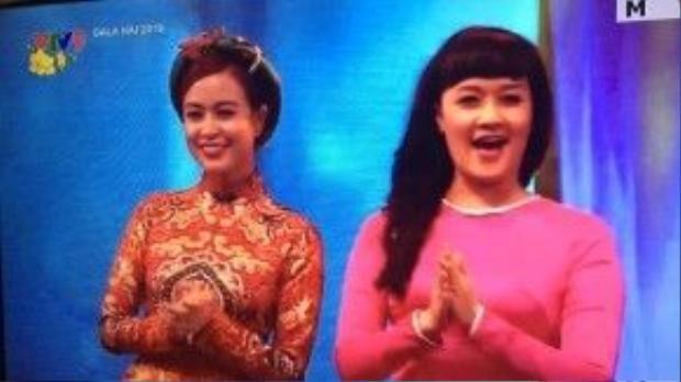 """Hoàng Thùy Linh được các fan báo tin mình xuất hiện trong chương trình """"Gala hài 2016""""."""