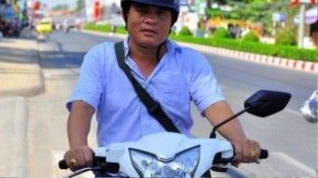 """""""Hiệp sĩ"""" đường phố Nguyễn Thanh Hải. Ảnh: Ngọc An."""