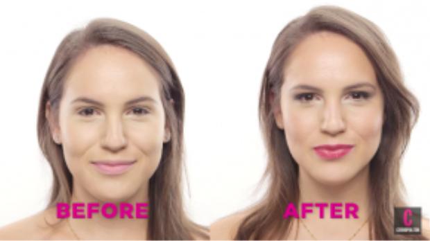 Khuôn mặt trước và sau tạo khối.