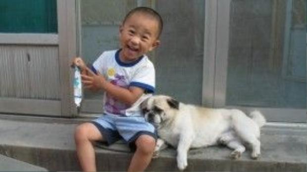 Loài chó lúc nào cũng sẵn sàng lẽo đẽo đi theo chủ nhân.