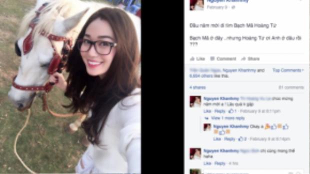 """Khánh My - ứng cử viên tiềm năng của chức quán quân """"Bước nhảy hoàn vũ 2016"""" đang vi vu cùng gia đình tại thành phố Đà Lạt."""