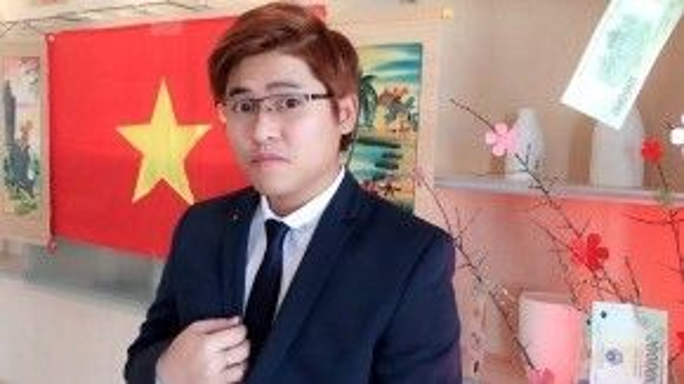 Bạn Nguyễn Minh Hoàng đã ăn Tết xa nhà 4 năm liên tiếp.