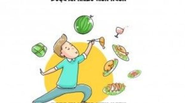 Năm mới cũng là lúc mọi người được thưởng thức nhiều món ăn ngon.