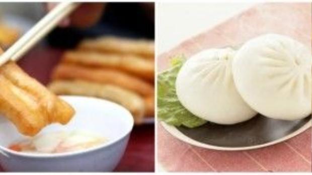 Hai món ăn của người độc thân Trung Quốc vào dịp 11/11.