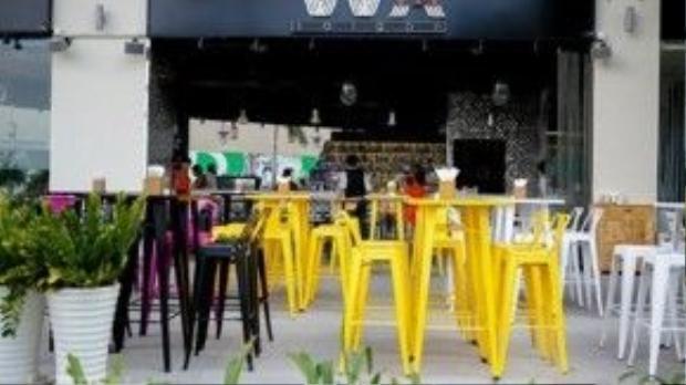 Wabar Saigon nằm trên đường Tôn Dật Tiên, quận 7, là địa điểm quen thuộc cho khách vào những dịp lễ, hoặc tổ chức chương trình sôi nổi. Ảnh: hotdeal