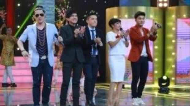 Các ca sĩ khách mời cũng sẽ hòa giọng trong chương trình.