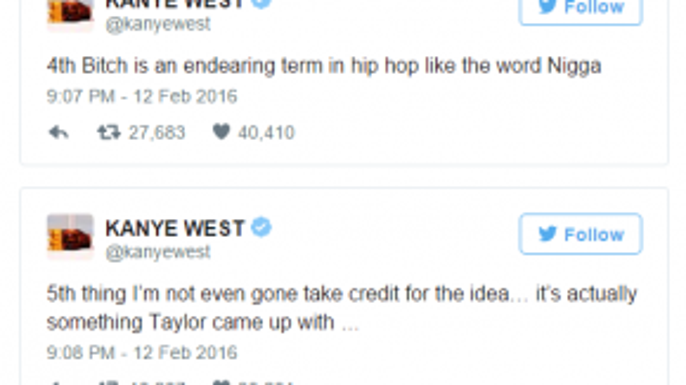 Kanye đăng đàn giải thích về ca khúc Famous.