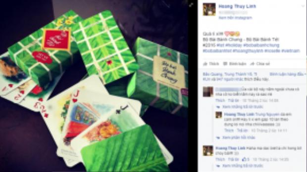 Ngoài việc chia sẻ về sự kiện quay trở lại chương trình Gala cười 2016, Hoàng Thùy Linh rất ít chia sẻ những hoạt động Tết của mình lên trang cá nhân. Điều này khiến fan hâm mộ rất tò mò, tuy nhiên trên trang cá nhân mọi người đều gửi những lời chúc và hy vọng cô nàng sẽ đón một năm mới hạnh phúc.