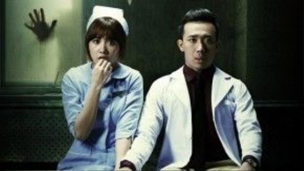 Bệnh viện ma - Bộ phim điện ảnh sắp được ra mắt của Trấn Thành và Hari Won.