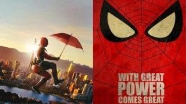 """""""Sức mạnh càng nhiều, càng vô trách nhiệm"""" là câu tagline """"nhái bén"""" từ bên Spider-man."""