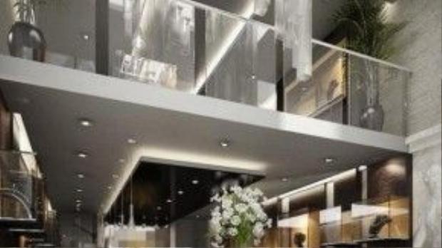 Thiết kế sang trọng và lộng lẫy bên trong công ty trang sức của vợ chồng đại gia kim cương.