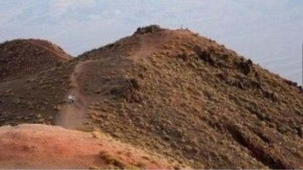Thung lũng Chết vốn là vùng đất khô cằn…