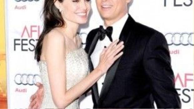 Đả nữ Hollywood đang có cuộc sống viên mãn bên bạn đời Brad Pitt.