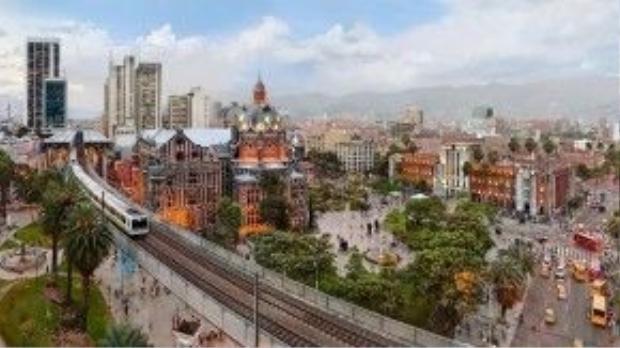 """""""Thành phố mùa xuân vĩnh cửu"""" Medellin được tìm thấy vào ngày 2/11/1675."""