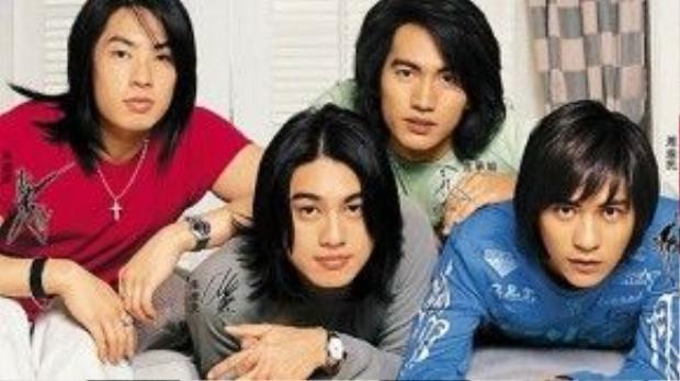 F4 trở thành nhóm nhạc thần tượng mà tất cả các cô gái đều phát cuồng ngày ấy