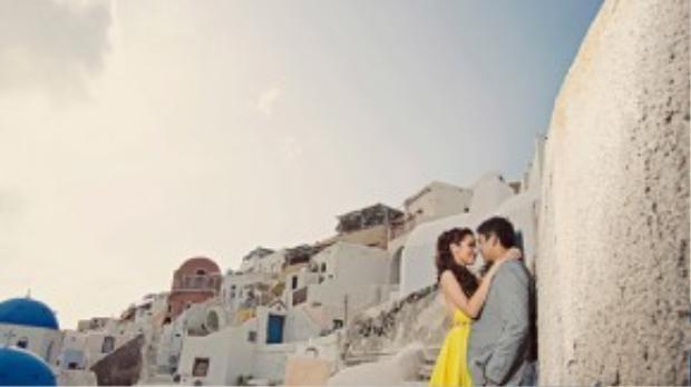 Vì thuộc Hy Lạp - một quốc gia nằm trong vùng Địa Trung Hải nên kiến trúc nơi đây mang đậm phong cách vùng biển nhiệt đới ấm áp này. Ảnh: David from A.X