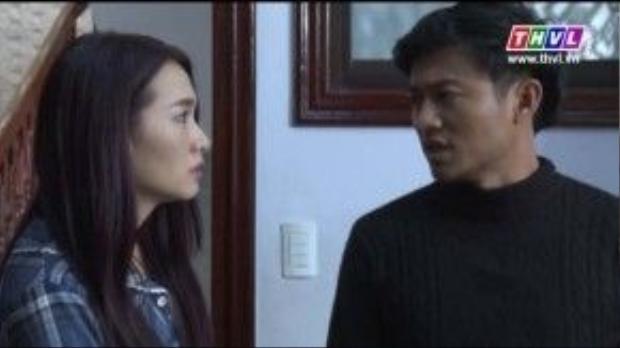 Quỳnh Như cứ lần mò đi tìm hiểu thông tin qua hai ông bà già khiến cho Minh Phạm cáu kỉnh không yên.