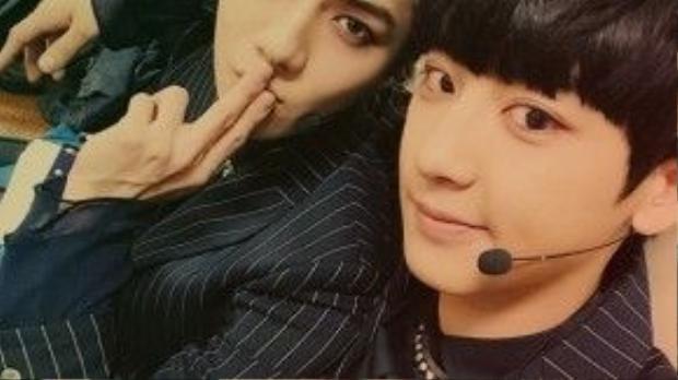 Bộ đôi mỹ nam Chanyeol - Sehun của EXO chính là hai cái tên được nhắc đến nhiều nhất.