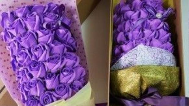 Hoa hồng sáp có ướp hương thơm tiềm ẩn nhiều nguy cơ độc hại.