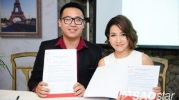 Cũng trong buổi họp, Mỹ Linh lần đầu ra mắt e-kip mới sẽ đồng hành cùng cô trong những dự án cộng đồng tiếp theo.