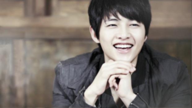 Mắt cười là một trong những điểm thu hút của Song Joong Ki.
