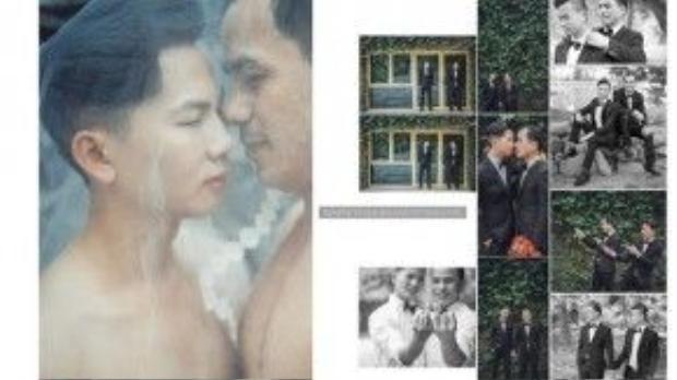 Đào Xuân Tuyên và Lê Văn Minh, cặp đôi sẽ kết hôn vào cuối năm nay ở Thanh Hóa.