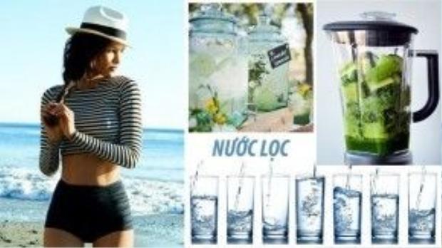Uống đủ nước mỗi ngày là cách đơn giản nhất để chồng lão hóa da, cung cấp lượng nước cần thiết cho cơ thể và giúp tinh thần thư nhái hơn.