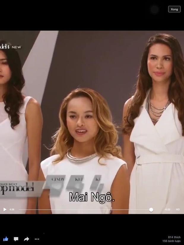 Quỳnh Mai được so sánh với siêu mẫu Devon Aoki