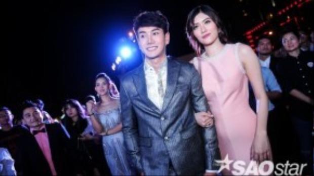 Pak Narapat và bạn diễn Huỳnh Tiên.