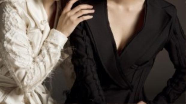 Nếu như người ta vẫn luôn nhớ đến cô chị Phương Linh với một giọng ca truyền cảm trong âm nhạc, thì Phương Ly lại chính là nhân tố mới với gu ăn mặc vô cùng thú vị cho ngành thời trang.