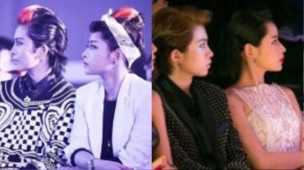 Chi Pu và Gil Lê có nhiều điểm tương đồng đến ngạc nhiên ở góc nghiêng được Fan chụp lại.