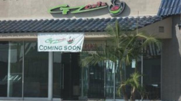 Quán GZ Cafe ở thành phố Stanton. Ảnh: Yelp