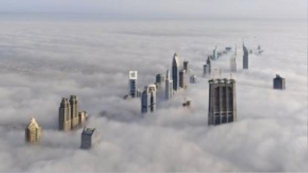 """Các tòa nhà chọc trời là """"đặc sản"""" của Dubai."""