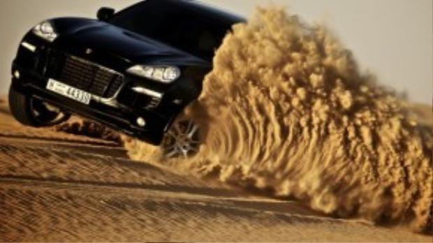 Dubai còn là thiên đường của các fan mê siêu xe.