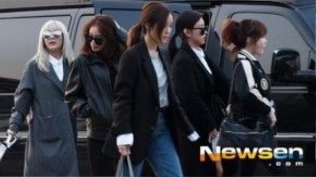 T-ara xuất hiện xinh đẹp tại sân bay Incheon hàn Quốc.