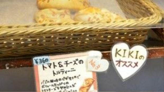 Một số loại bánh đặc biệt được chính Kiki đề xuất cho thực khách.