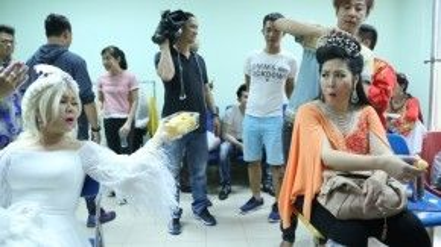 Việt Hương và Hồng Vân có những khoảnh khắc rất đáng yêu.