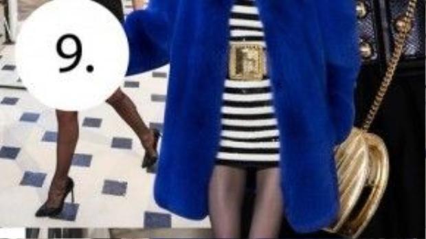 Saint Laurent phải chăng vớt vát lại được là nhờ những thiết kế áo lông đỉnh cao?